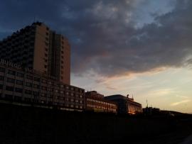 Sunset III – »glücklich wohnen«