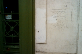 Satan Vandalism