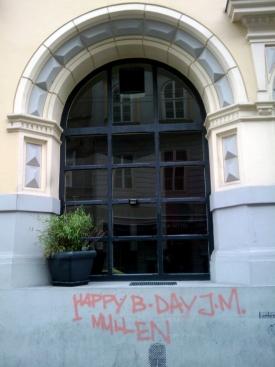 Birthday Vandalism I
