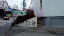 Billa Vandalism