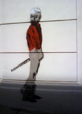 Wee Mozart Vandalism